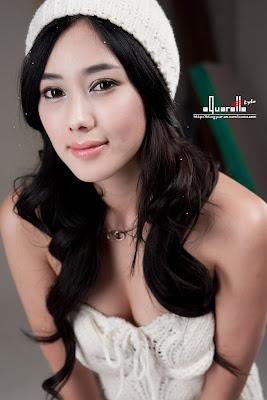 Sexy Korean Girls Asian Cute Photos: Gu Ji Sung White Glas Tint