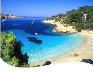 playas ibiza espana