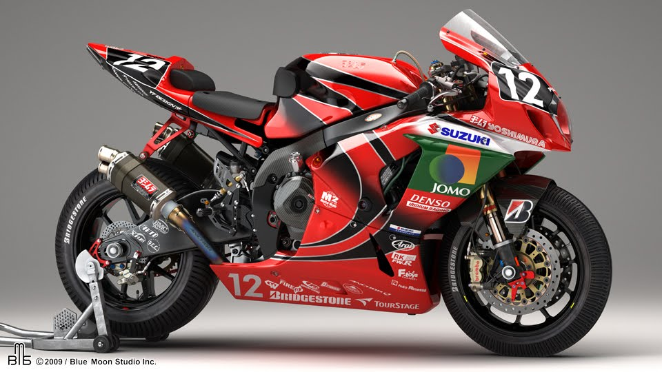 racing caf yoshimura gsx r 1000 k9 8 hours suzuka 2009. Black Bedroom Furniture Sets. Home Design Ideas