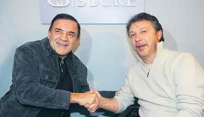 QUÉ DUPLA. Juntos, Felipe Lábaque y Rubén Magnano guiaron al club nuevamente hacia lo más alto.