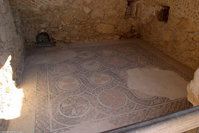 ancient synagogue at masada