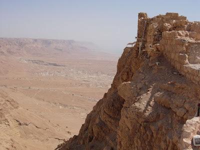 wonderful views from masada