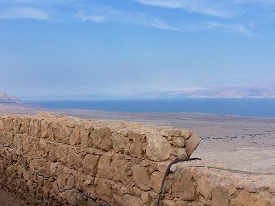 views from the masada fortress