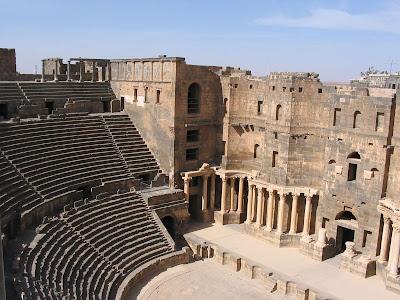 Roman theatre Bosra