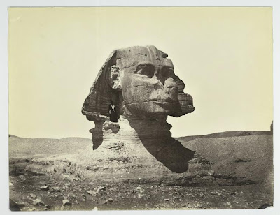 The Sphinx once buried in the sand