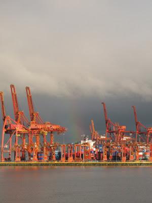 coal harbour rainbow