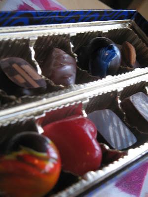 mmmm...chocolates