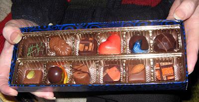 mmmm...chocolate