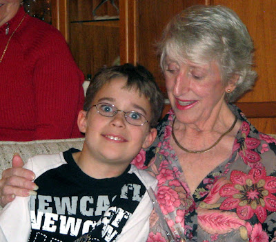 trey and grandma