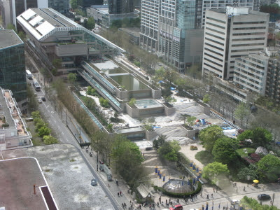 robson square & the courthouse