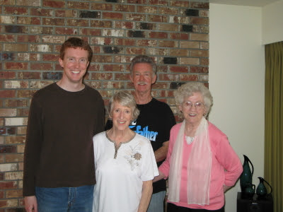 alex joan larry and grandma ina
