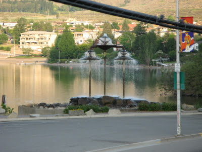 early morning in osoyoos