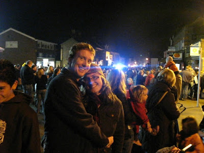 shanalex at the bonfire parade