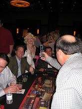 Marylin Monroe is in the Casino