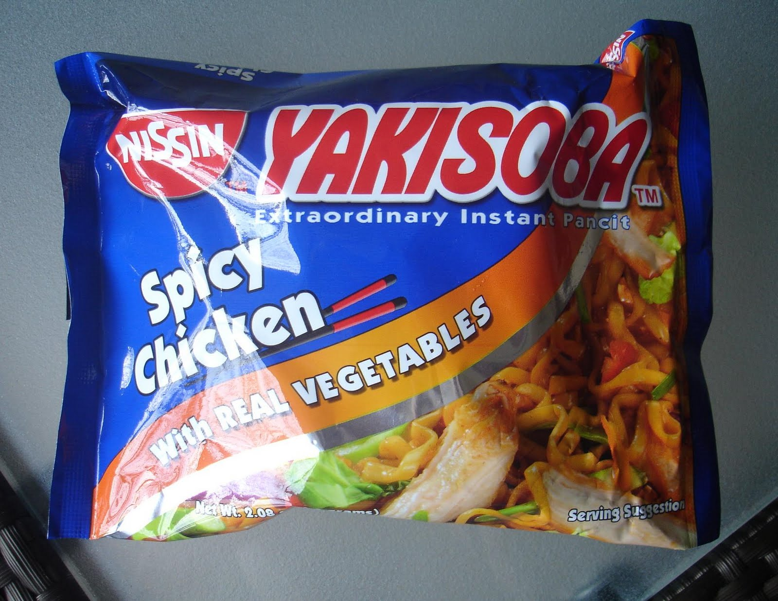 Oh My Noodles!: Nissin Yakisoba - Spicy Chicken