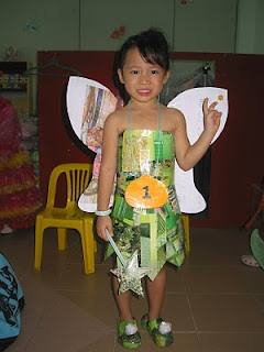 This is my little girl in her tinkerbell outfit that I made!!! Not bad le...at least she looked really cute!!! ;) I even made her shoes!!!  sc 1 st  Jacqieu0027s Life & Jacqieu0027s Crazy Little World...: TA-DA!!! The Tinkerbell Costume I ...