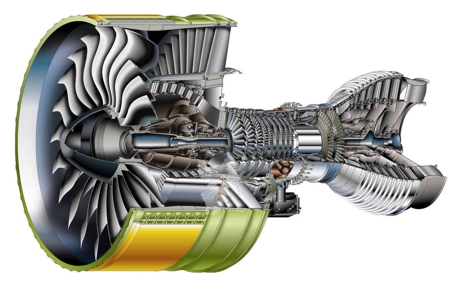 jet engine turbine and - photo #1