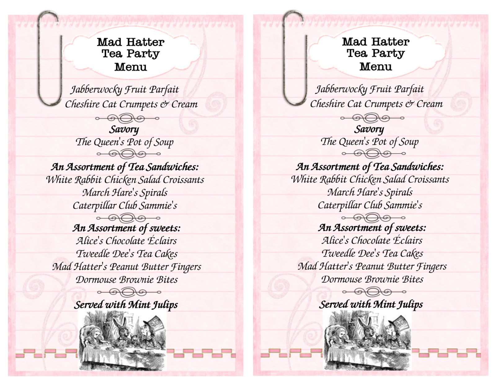 Mad Hatters Tea Party Invitation Template | futureclim.info