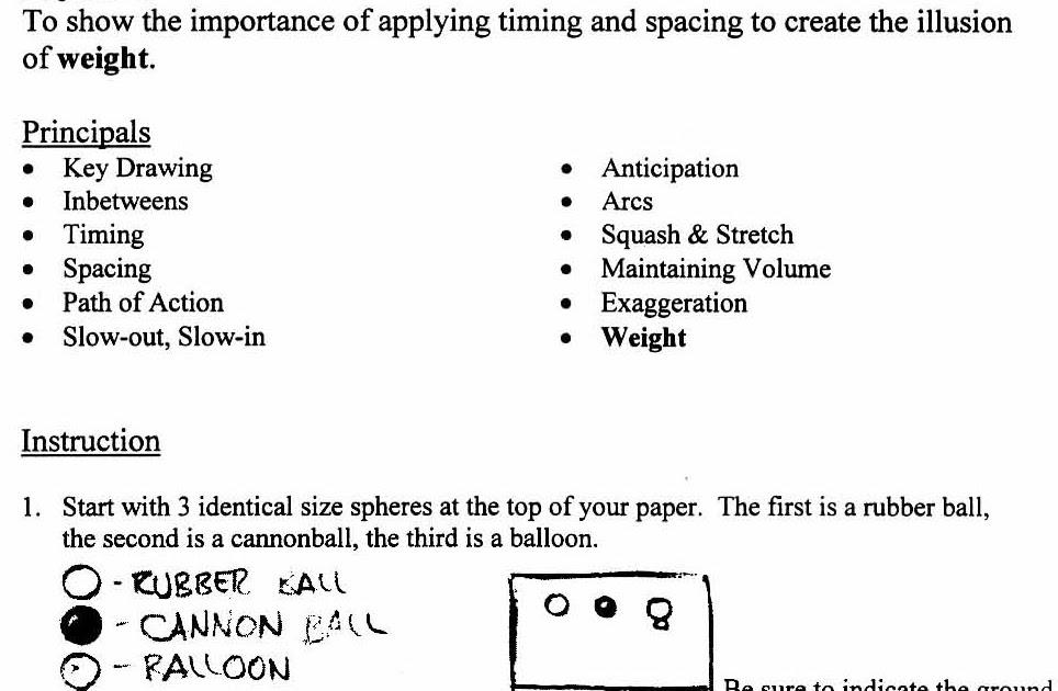 2D Basic Cartoon Animation: Exercise 4 ( Rubber Ball