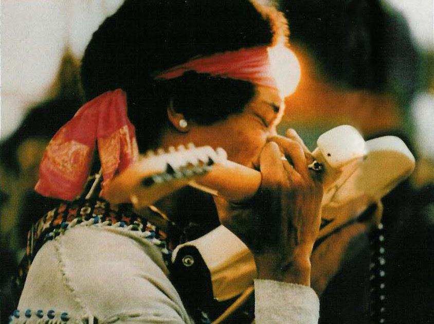La cinta porno de Jimi Hendrix Orgasmatrix