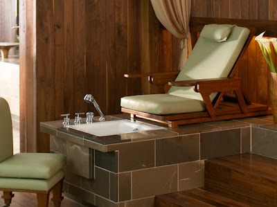 Trendoffice: The Latest in Bathroom Luxury: Pedicure Spa#links :  spa bathroom