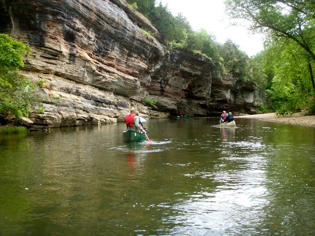 Chuck 39 s adventures paddling arkansas 39 buffalo river for Elc paddling pool