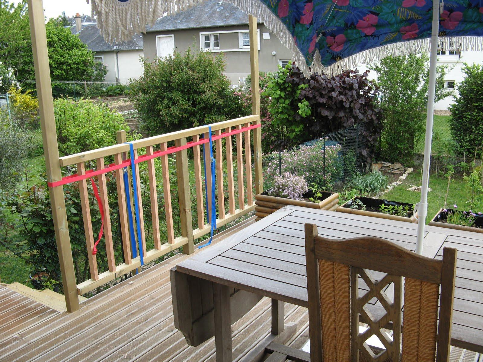 le blog d 39 elodie rambarde terrasse. Black Bedroom Furniture Sets. Home Design Ideas