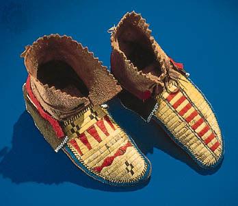 Vintage Boots Navajo Moccasins