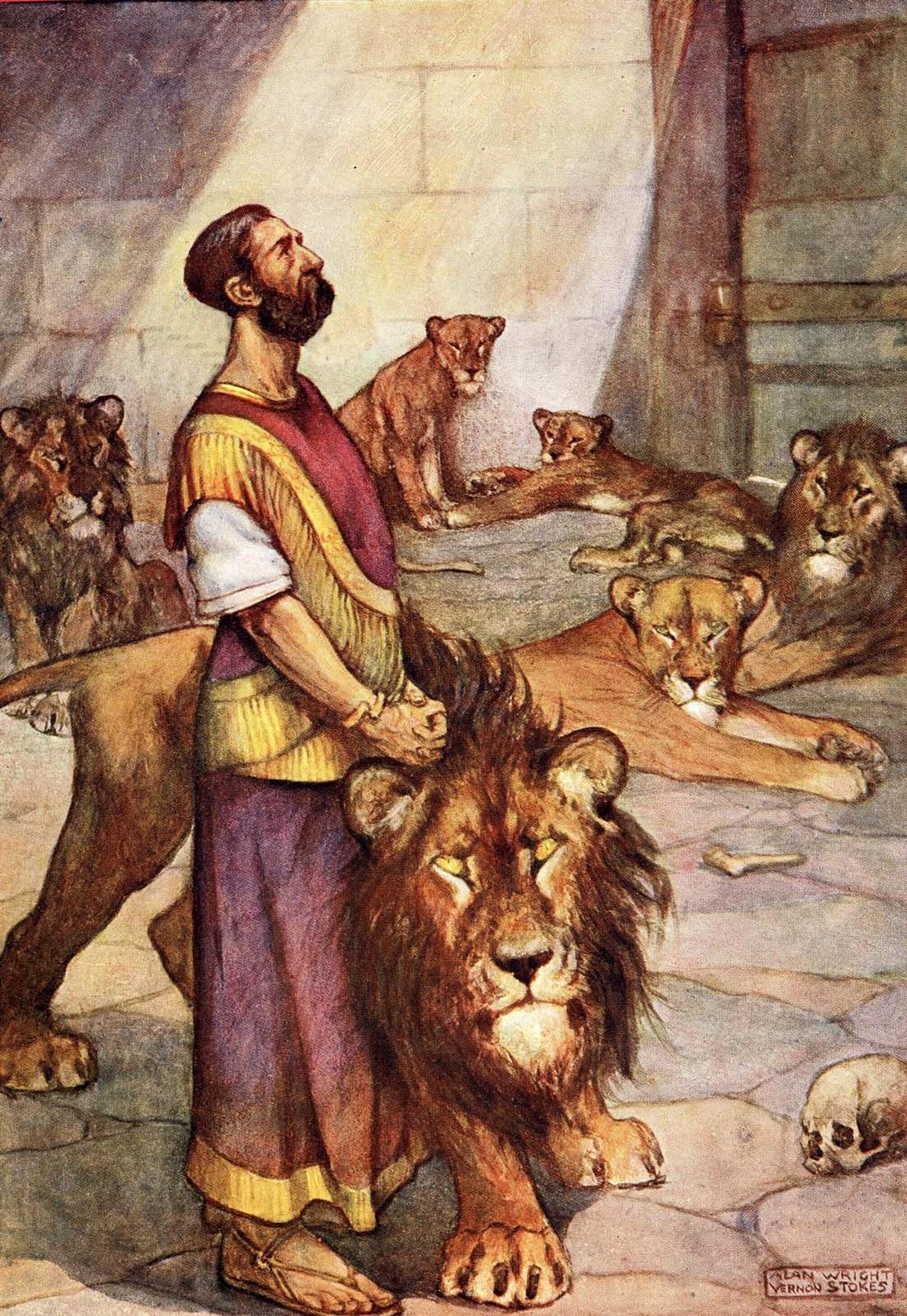 Bible Stories Daniel Bible Vector
