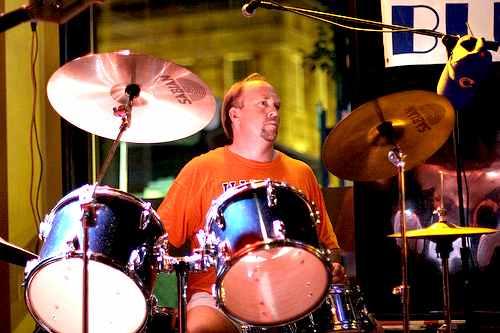 Drummer Scott Henrikson: