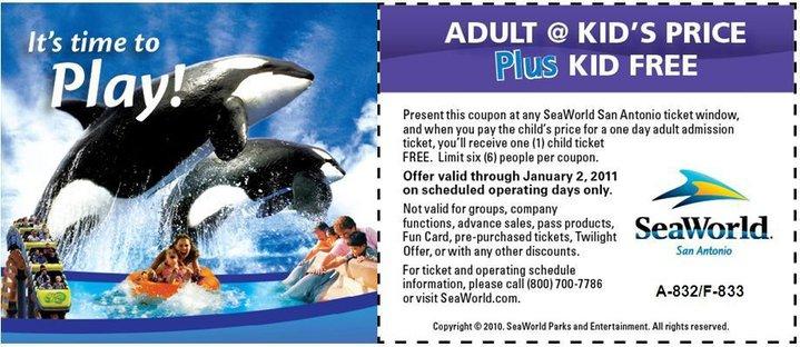 seaworld bogo annual pass 2019
