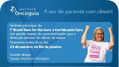 1º Brasil Race for the Cure, a Corrida pela Cura