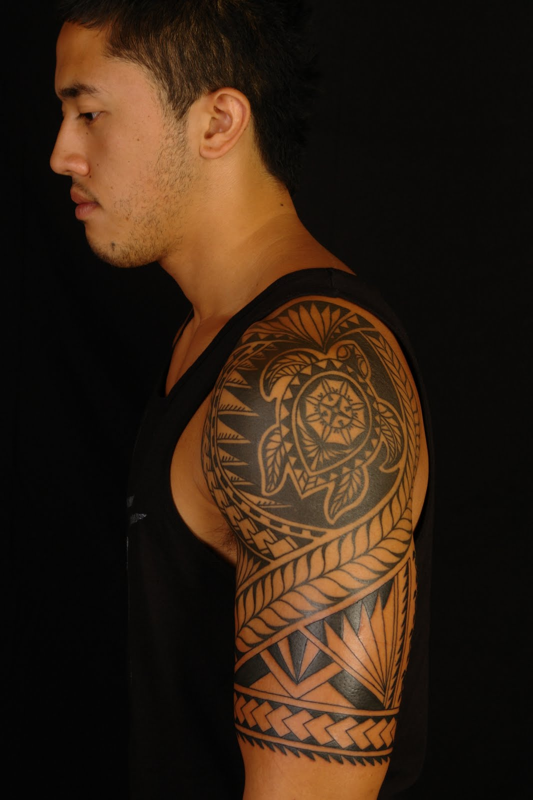 Maori Tattoos Part 01