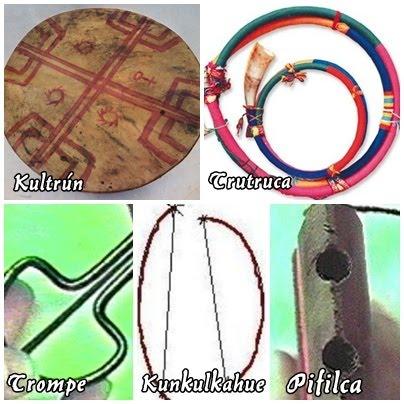 Información Pueblo Mapuche Instrumentos Mapuches