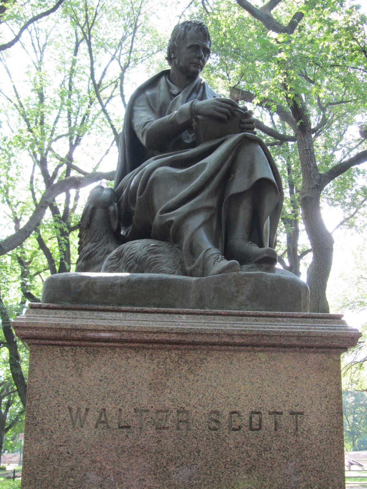 The Daily Sir Walter Central Park S Literary Walk