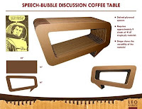 If You Want To Know How Make Cardboard Furniture Leo Kempf Offers Instructions For Making His Sch Bubble Coffee Table And Two Other Projects On