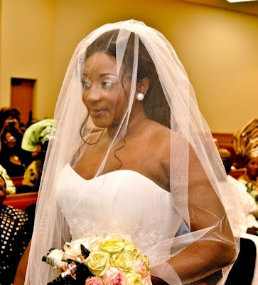 Lovely Ini Edo S Wedding Pictures Love The Lace Front Hair Look