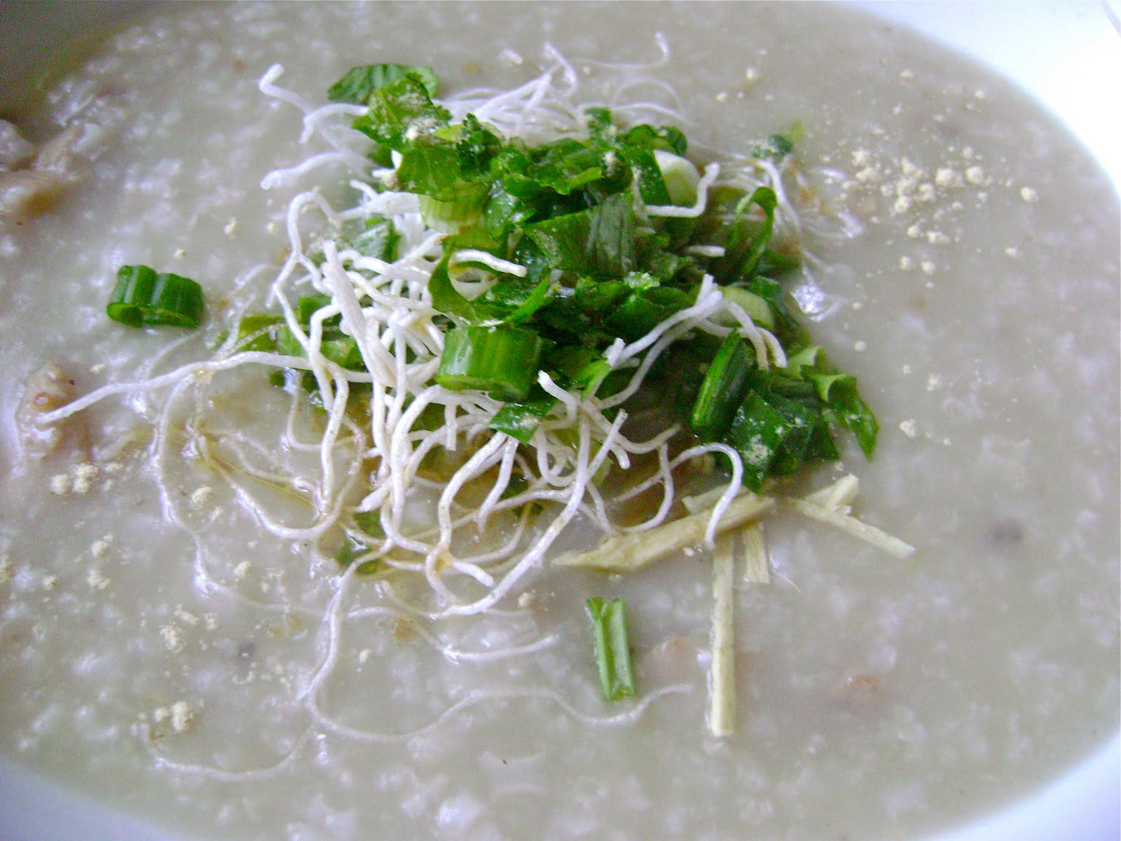 Savories and Sweets by Keyna: Hong Kong Style Chicken Porridge