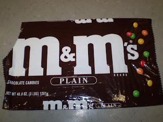 The Chocolate Traveler- M&M Collector: Old school PLAIN M ...