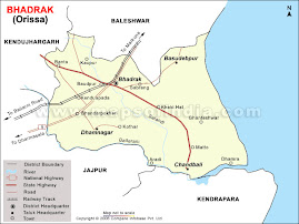 Bhadrak Road Map