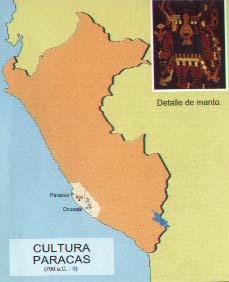 ubicación cultura paracas