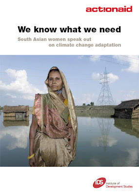 Download ActionAid report how climate affects South Asian women