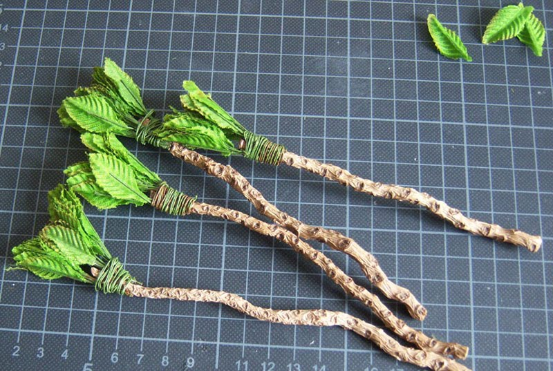 cianty's Tabletop Wargames Blog: Palm Trees & Jungle Sections