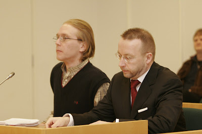 Mikko Ellila during his trial