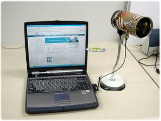 Melhorando a conexão 3G: antena direcional caseira para locais com sinal muito baixo. (1/4)