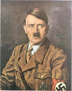 Confiar em homens de bigode.... jamais Kunst+Hitler