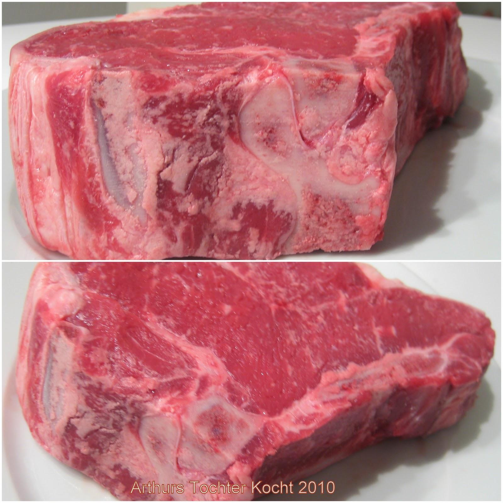 Dafür gibt es aber auch einen neuen Herd und neuen Backofen von Siemens (Meisterklasse) und ein ordentliches Steak, bzw. Kotelett vom Rind! | Arthurs Tochter kocht von Astrid Paul. Der Blog für Food, Wine, Travel & Love