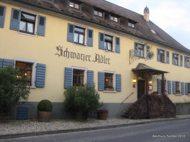 Restaurant, Weingut, Hotel. Fritz Kellers Schwarzer Adler in Oberbergen, Kaiserstuhl | Arthurs Tochter kocht. von Astrid Paul. Der Blog für food, wine, travel & love