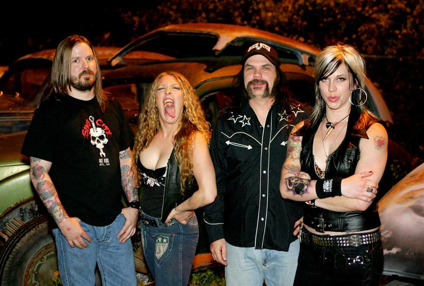 Nashville Pussy Band 86
