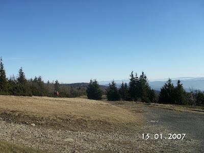 Pohled na Vysoké tatry z Radhoště